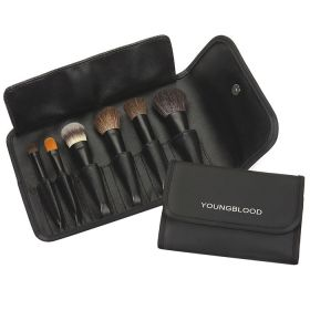 Young Blood Professional Mini  Brush Set - 6 Piece