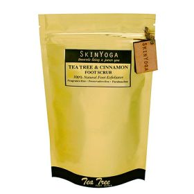 Skin Yoga Tea Tree Cinnamon Foot Scrub & Exfoliator