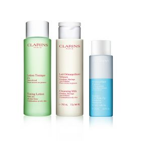 Clarins - Make up Remover Trio - Combination to Oily Skin