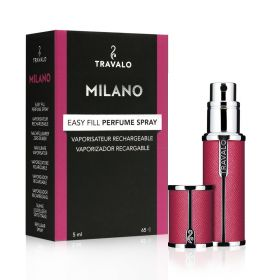 Milano Refillable Fragrance Spray - Hot Pink