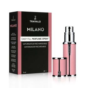 Milano Refillable Fragrance Spray - Rose Pink