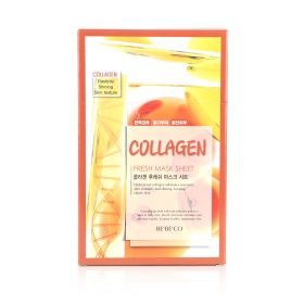 Collagen Face Mask For Wrinkles & Skin Whitening – 12 Sheets