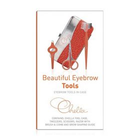 Chella - Beautiful Eyebrow Tools In Case