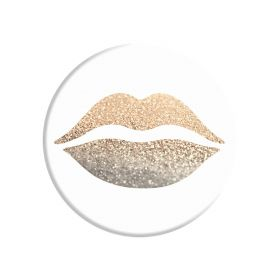 PopSockets - Gold Lips - 101209