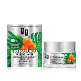 Bio Natural Vegan Antioxidant Cream - 50ml