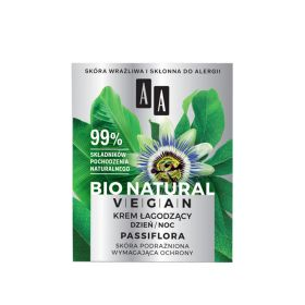 Bio Natural Vegan Passiflor Soothing Cream - 50ml
