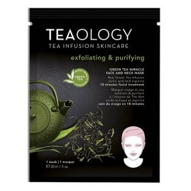 Teaology - Green Tea Miracle Face And Neck Mask