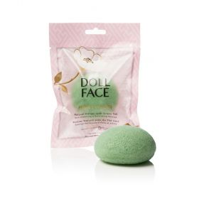 Doll Face Natural Konjac With Green Tea Skin Cleansing & Exfoliating Sponge | All Skin Types