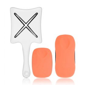 Orange Blossom Hair Brushes Set - 3 Pcs