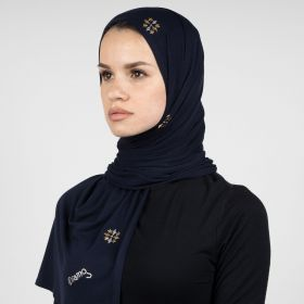 Diamokwt - Navy Blue Hijab
