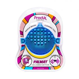 Practk - Palmat Blue - Makeup Brush Cleaning Tool