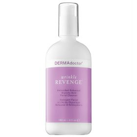 DERMAdoctor Wrinkle Revenge  Antioxidant Enhanced Glycolic Acid Facial Cleanser - 180ml