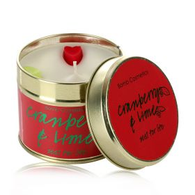 Cranberry & Lime  - tin candle