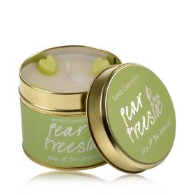 Pear & Freesia  - tin candle