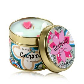 Gorgeous  - tin candle