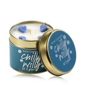 Chilly Willy   - tin candle