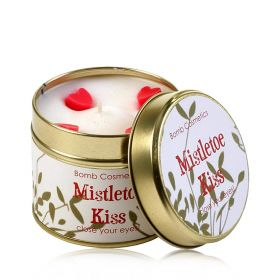 Mistletoe Kiss   - tin candle