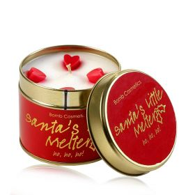 Santa's Little Melter   - tin candle