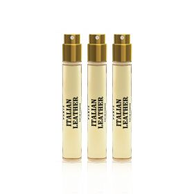 Italian Leather Eau De Parfum Travel Refill Spray Set - 10ml -  3 Pcs - Women