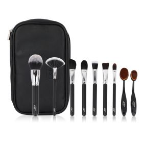Face Brushes Set - 10 Pcs