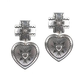 Ghadeer Albarjas - Vintage Love Earrings