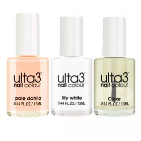Ulta3 French Manicure Nail Polish Collection by Mashael Artist