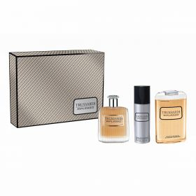 Trussardi - Riflesso Deluxe Set - Men( Eau De Toilette 100ml - Shower Gel 200ml - Deodrent 100ml )