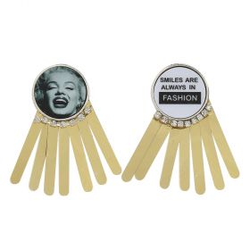 Ralouch Design Earrings - Smile are always in Fashion