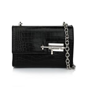 Chain Hand Bag - Black