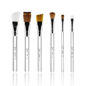 Skincare Brush Set - 6 Pcs