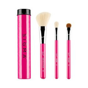 Beauty Essential Trio Brush Set - 3 Pcs