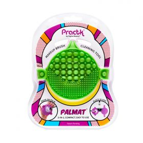 Practk - Palmat Green - Makeup Brush Cleaning Tool