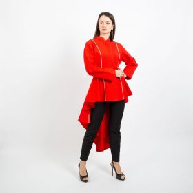 Heba Bodahoum - Red Blouse