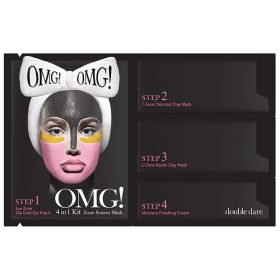 Double Dare - OMG!  Zone System Mask Kit - 4IN1