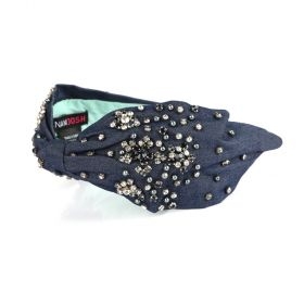 Namjosh - Kaja Head Band -Dark Blue