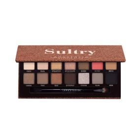 Sultry Eye Shadow Palette - 14 Shades