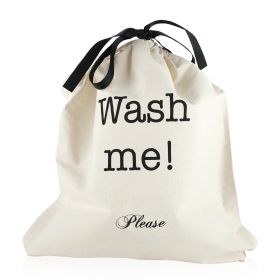 Wash Me  - Organizing Bag - Black/White