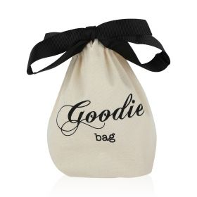 Mini Goodie Bag - Black/White