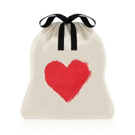 Heart Bag - Black/White