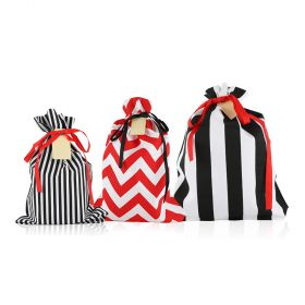 Graphic Gift Bags - Set of 3 - Black/White