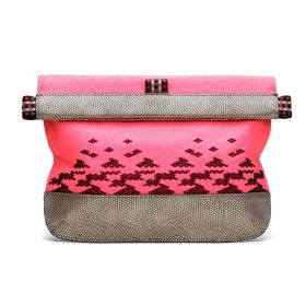 Flex Frame Makeup Clutch - Southwest Sunrise