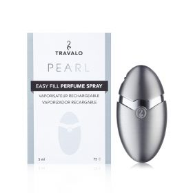 Pearl Refillable Fragrance Spray - Silver