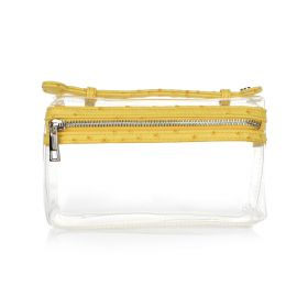 Transparent Ostrich Bag - Yellow