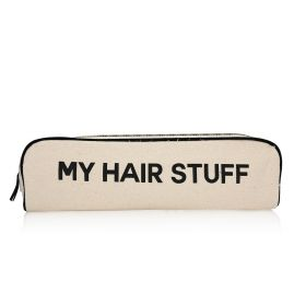My Hair Stuff Case - Black/White