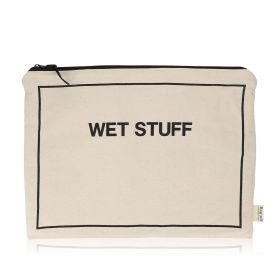 Wet Stuff Pouch - Black/White