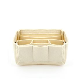 Felt Medium Bag  Organizer - Nude