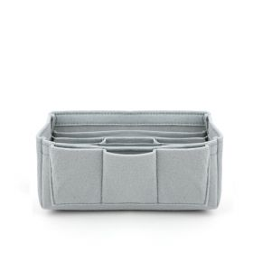 Felt Medium Bag Organizer - Grey