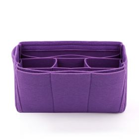 Felt Big Bag Organizer - Violet