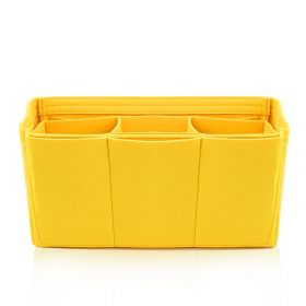 Felt Big Bag Organizer - Yellow