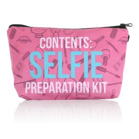 Selfie Makeup Bag - Red
